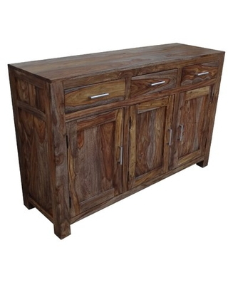 New Bargains on Marchese 3 Door 3 Drawer Sideboard Union Rust