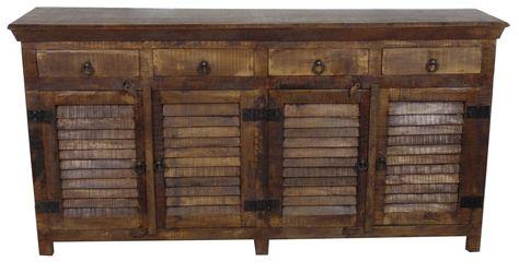 Drummond 4 Drawer Sideboard | Furniture, Sideboard, Sliding .