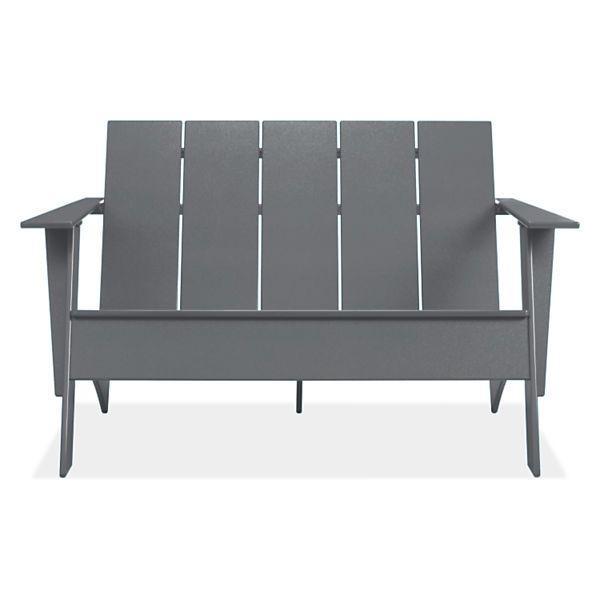 Room & Board - Emmet Tall Outdoor Sofa - Modern Outdoor Lounge .