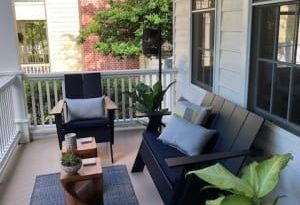 Room & Board - Emmet Tall Outdoor Sofa - Modern Outdoor Sofas .