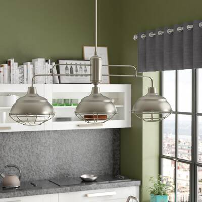 Dunson 3 Light Kitchen Island Pendants