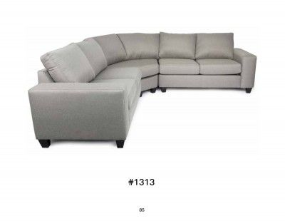 Modern Style Canadian Made Sectional So