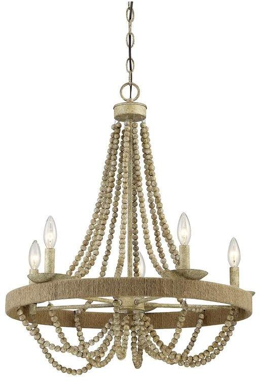 Mistana Gladys 5-Light Candle Style Chandelier | Empire chandelier .