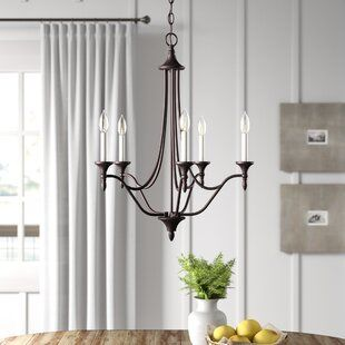 Eastbourne 6-Light Globe Chandelier | Joss & Main | Chandelier .