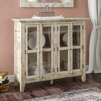 Lark Manor Eau Claire 6 Door Accent Cabinet & Reviews | Wayfair .
