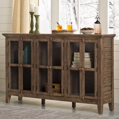 "Kelly Clarkson Home Eau Claire 70"" Wide Acacia Wood Sideboard in ."