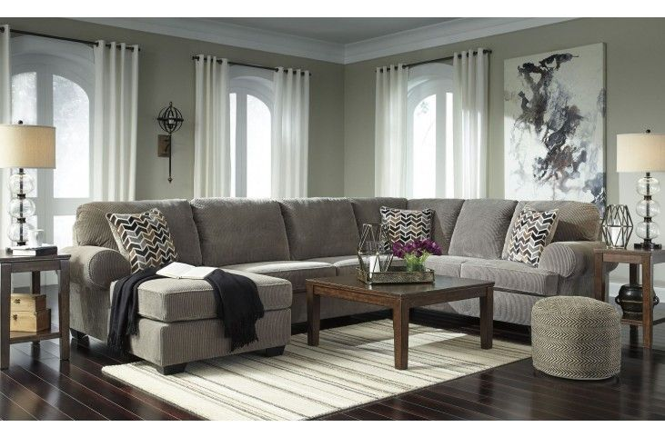 Jinllingsly Gray LAF Sectional (With images) | Sectional sofa .
