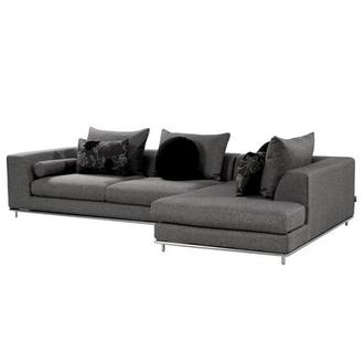 Henna Sectional Sofa w/Left Chaise | El Dorado Furnitu