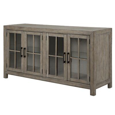 Greyleigh Roclincourt Sideboard in 2020 | Solid wood dining table .