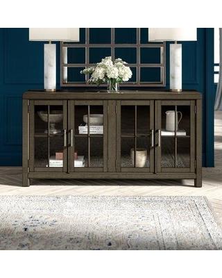 "Amazing Deals on Greyleigh™ Ellenton 66"" Wide Pine Wood Sideboard ."
