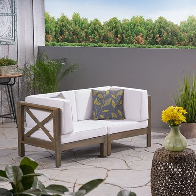 Showing Photos of Ellison Patio Sectionals With Cushions (View 11 .