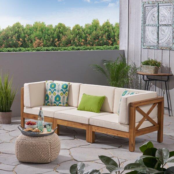 Ellison Patio Sofa with Cushions & Reviews | Joss & Ma