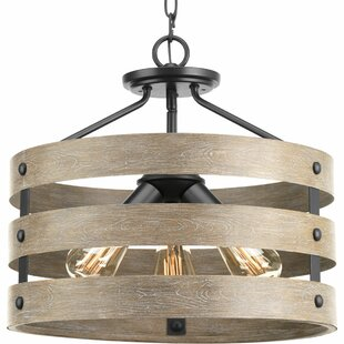 Sloped Ceiling Adaptable Wood & Bamboo Pendant Lighting You'll .