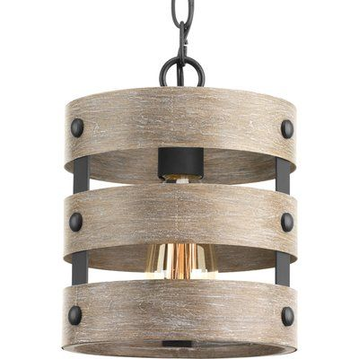 Emaria 1 - Light Single Drum Pendant | Transitional pendant lighti