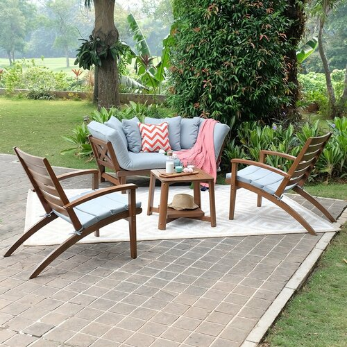 Englewood Loveseat with Cushions & Reviews | Joss & Ma