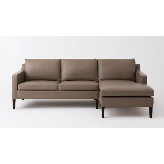 2 Piece Sectional Sofa With Leather Chaise Skye Eq3 available at .
