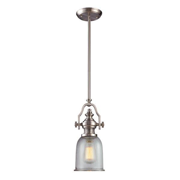 Erico 1-Light Single Bell Pendant & Reviews | Joss & Ma