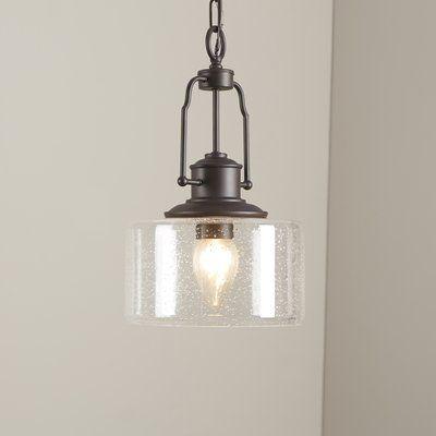 Erico 1 - Light Single Bell Pendant | Farmhouse pendant lighting .