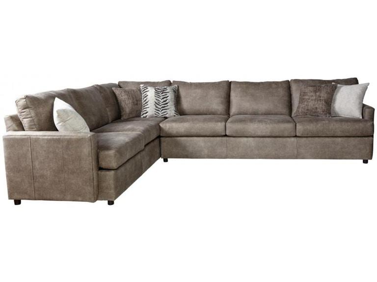 Hughes Furniture Living Room 10800 Sectional - Seiferts Furniture .
