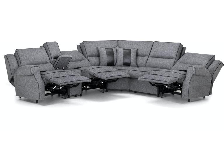 Franklin Living Room 759-Hawkins Tweed Look Sectional - Seiferts .