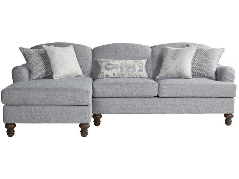 Hughes Furniture Living Room 12525 Sectional - Seiferts Furniture .