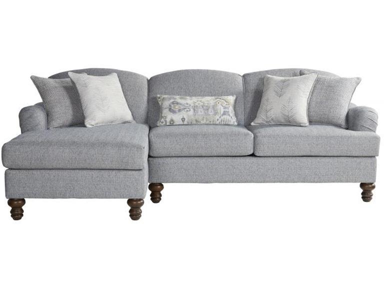 Hughes Furniture Living Room 12525 Sectional - Seiferts Furniture .