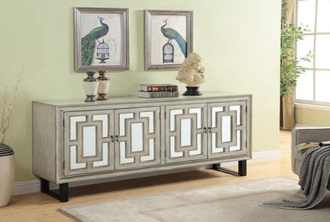 Garner Media Credenza | Living room design decor, Furniture, Media .
