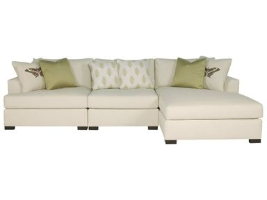 Shop for Bernhardt Interiors Adriana Sectional (3-Piece), N15-1 .