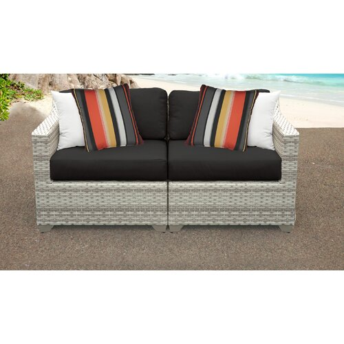 Sol 72 Outdoor Falmouth Loveseat with Cushions & Reviews | Wayfa