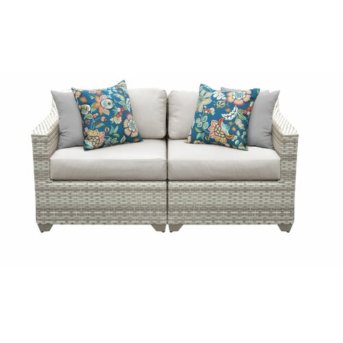 Falmouth Loveseat with Cushions & Reviews | Joss & Ma