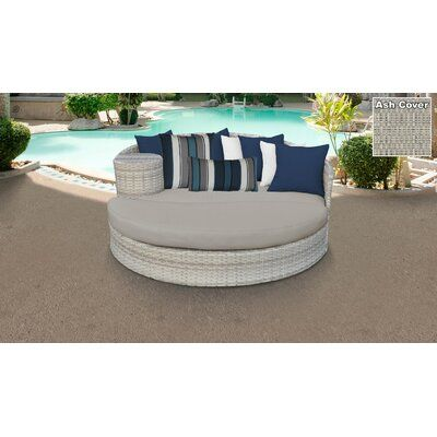 Sol 72 Outdoor Falmouth Patio Daybed with Cushions | Patio daybed .