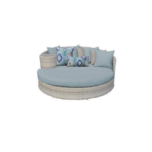 Falmouth Patio Daybed with Cushions | Patio daybed, Daybed, Daybed .