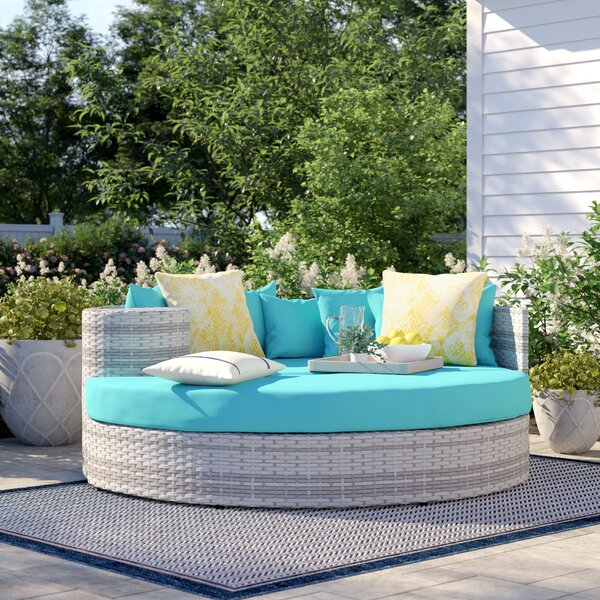 Sol 72 Outdoor™ Falmouth Patio Daybed with Cushions & Reviews .