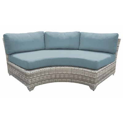 Sol 72 Outdoor Falmouth Patio Sofa with Cushions Sol 72 Outdoor .