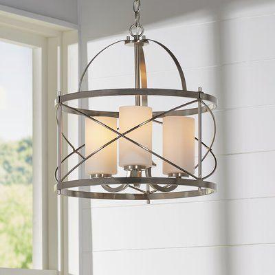 Farrier 3-Light Foyer Pendant | Lantern ligh