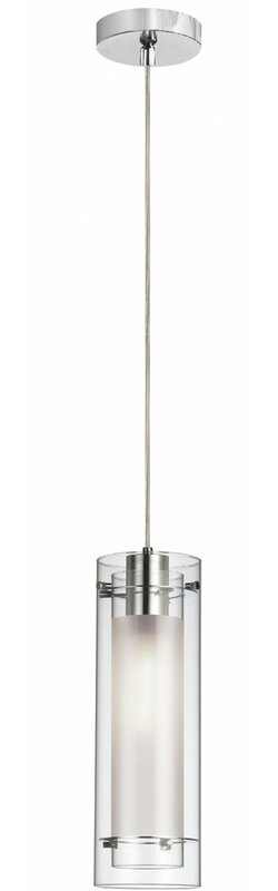 Fennia 1 Light Single Cylinder Pendants
