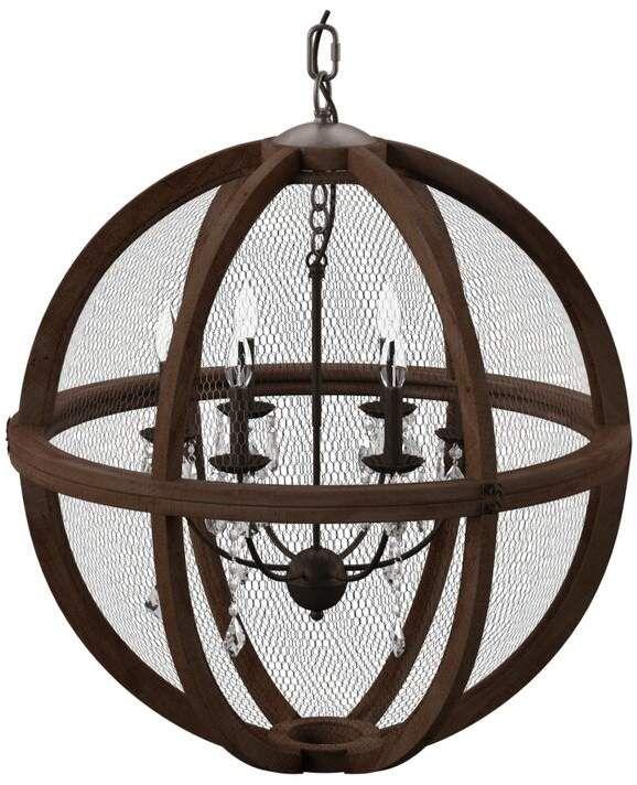 Birch Lane™ Heritage Filipe 6-Light Globe Chandelier in 2019 .