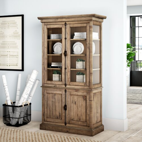Greyleigh™ Filkins Lighted China Cabinet & Reviews | Wayfa