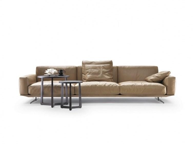 SOFT DREAM | SOFT DREAM LARGE | Leather sofa By Flexform .
