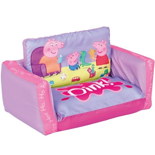 Peppa Pig Flip Out Sofa | Toddler sofa, Peppa pig toys, Peppa p