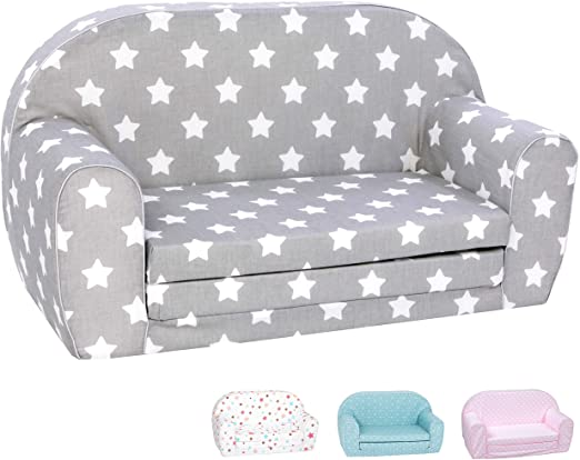 Amazon.com: DELSIT Toddler Couch & Kids Sofa - European Made .