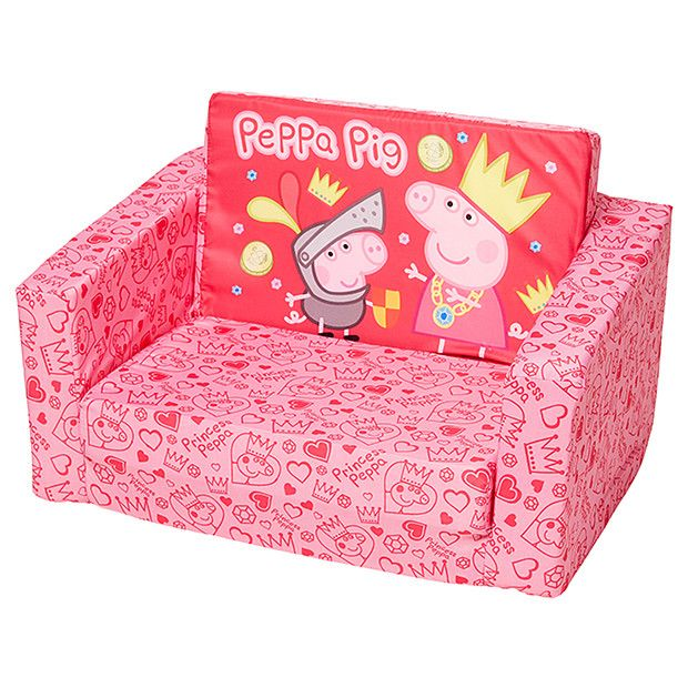 Peppa Pig Flip Out Sofa | Peppa pig, Peppa, P