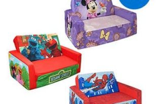 Character Flip Open Sofa for Kids just $24.97, Free Shipping .