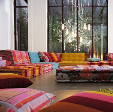 Get the look: Bohemian Floor Cushions | Searching for Syner