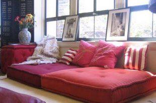 Sofa alternatives & floor couches DIYs - Wanderer's Palace | Floor .