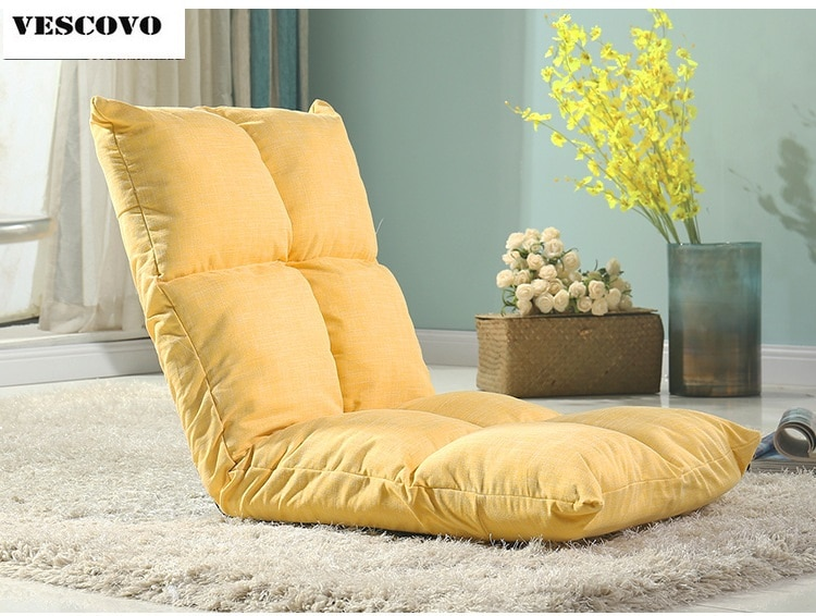lazy sofa chair tatami floor cushions bed chair small foldable bed .
