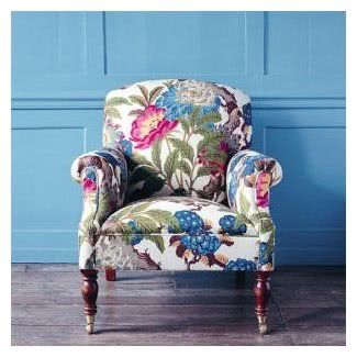 Floral Armchairs - Ideas on Fot