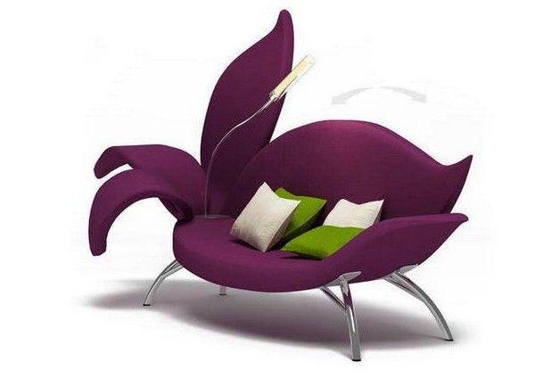 Floral Sofa by Russian designer Albina Basharova | Decoración de .