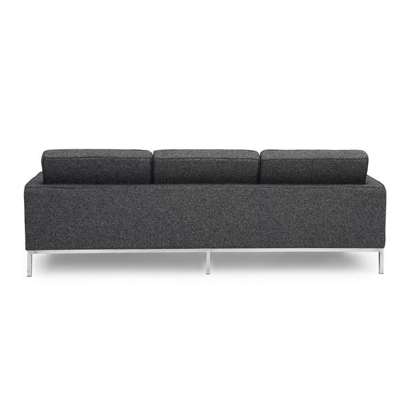 Shop Kardiel Florence Knoll Style Sofa 3 Seat, Premium Fabric .