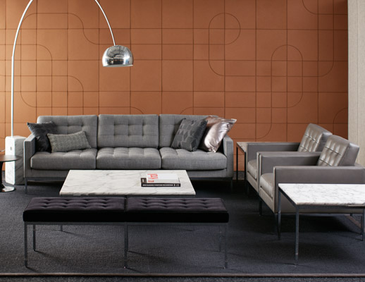 Florence Knoll™ Relaxed Sofa and Settee | Kno